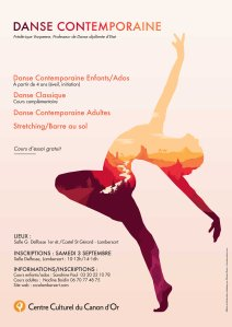 Affiche danse contemp
