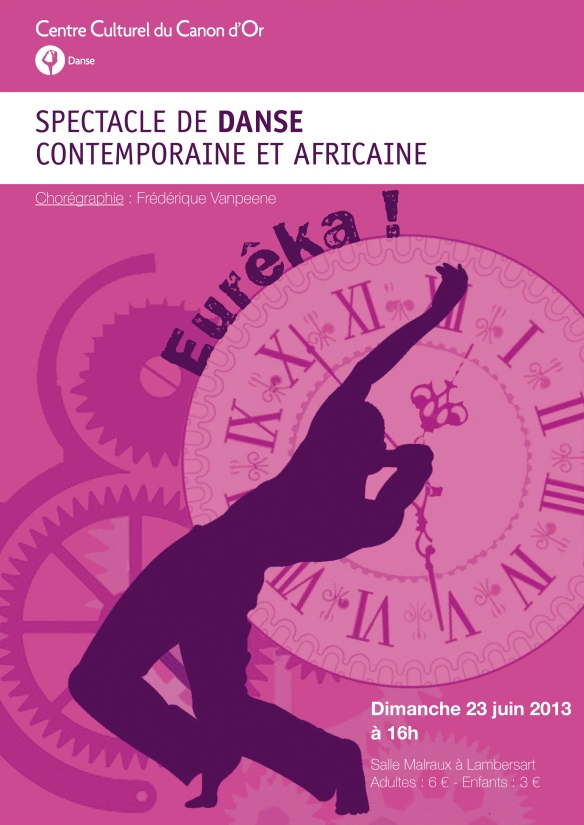 SPECTACLE DE DANSE CONTEMPORAINE ET AFRICAINE 2013