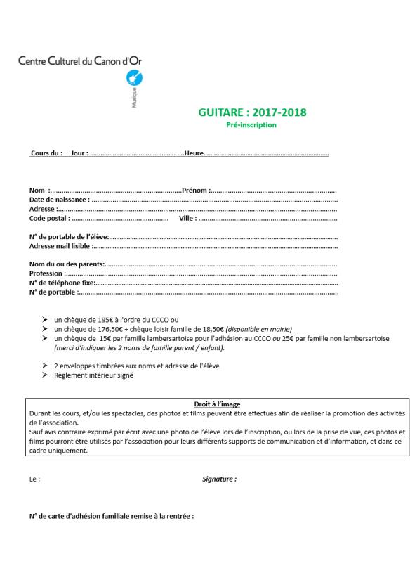 2 fiche pre inscription guitare 2017 2018